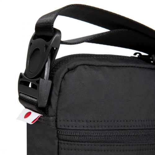 The One Streamed Black Shoulderbags by Eastpak