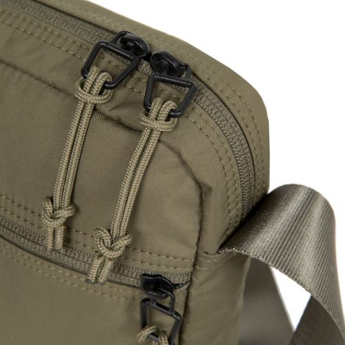 The One Streamed Khaki Shoulderbags by Eastpak