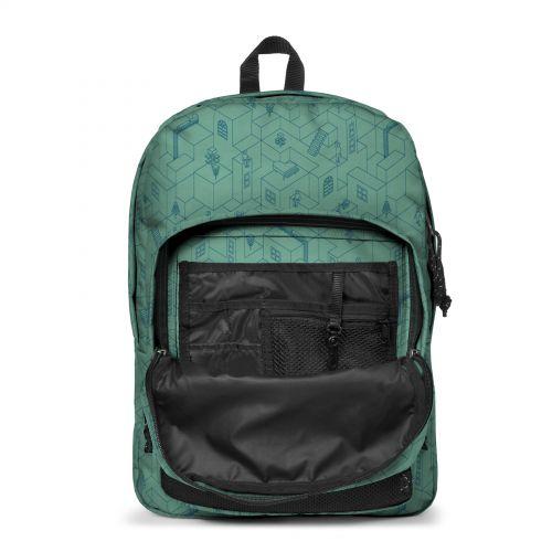 Pinnacle Blocks Melted Backpacks by Eastpak