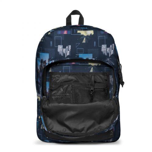 Pinnacle Shapes Blue Backpacks by Eastpak