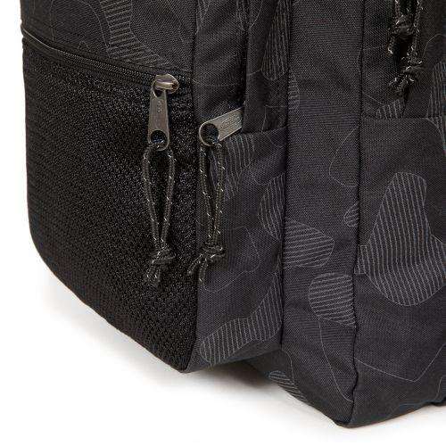 Pinnacle Reflective Camo Black Backpacks by Eastpak