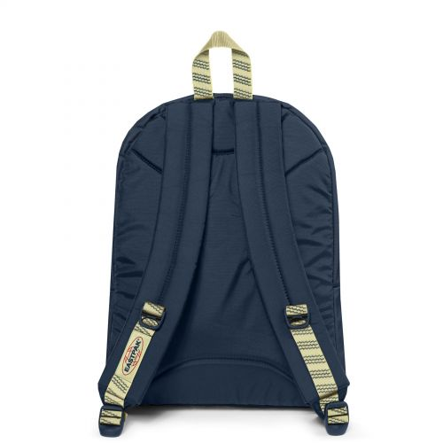 Pinnacle Blakout Stripe Icy Backpacks by Eastpak