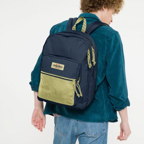Pinnacle Blakout Stripe Icy Backpacks by Eastpak - view 0
