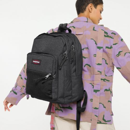 Pinnacle Sparkly Grey Default Category by Eastpak