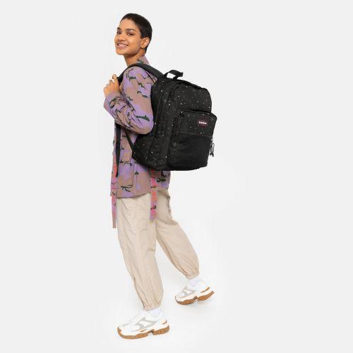 Pinnacle Splashes Dark Backpacks by Eastpak