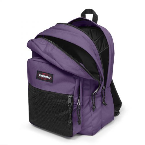 Pinnacle Grape Purple Backpacks by Eastpak