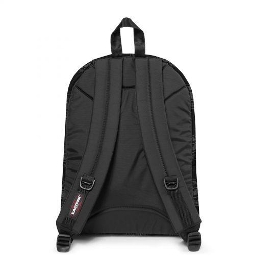Pinnacle Checked Dark Backpacks by Eastpak