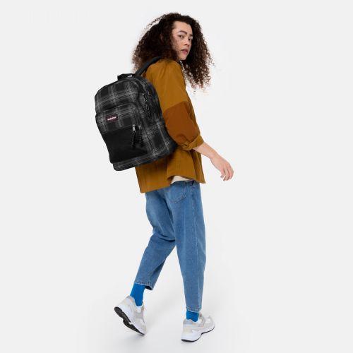 Pinnacle Checked Dark Backpacks by Eastpak - view 17