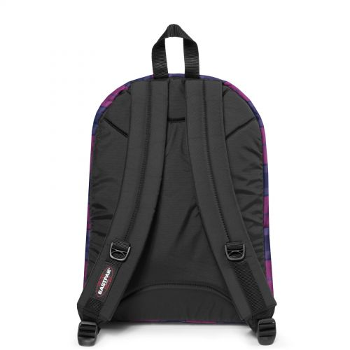 Pinnacle Checked Fuchsia Backpacks by Eastpak