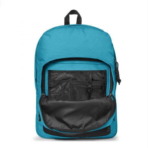 Pinnacle Soothing Blue Backpacks by Eastpak
