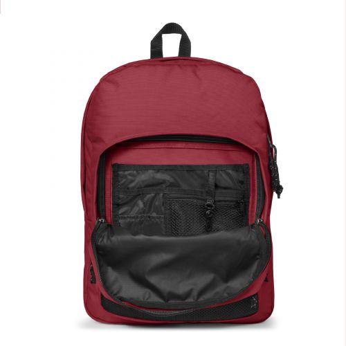Pinnacle Deep Burgundy Backpacks by Eastpak
