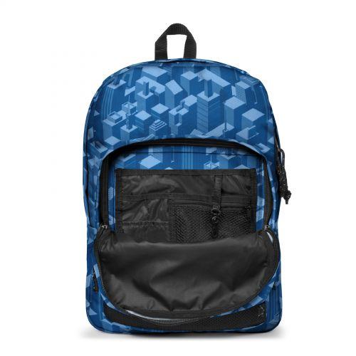Pinnacle Pixel Blue Backpacks by Eastpak