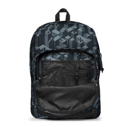 Pinnacle Pixel Black Backpacks by Eastpak