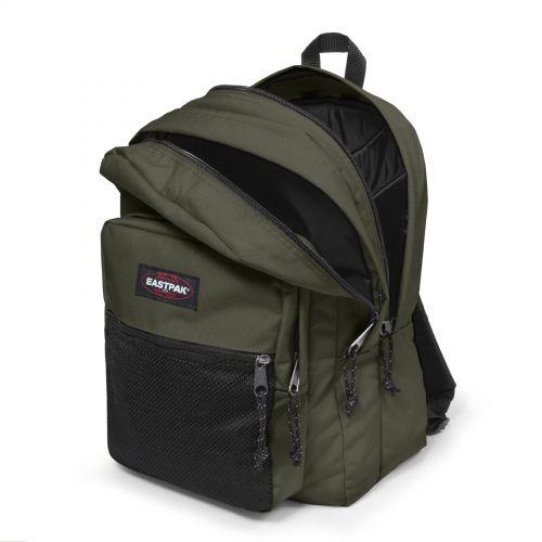 Pinnacle Crafty Olive Backpacks by Eastpak