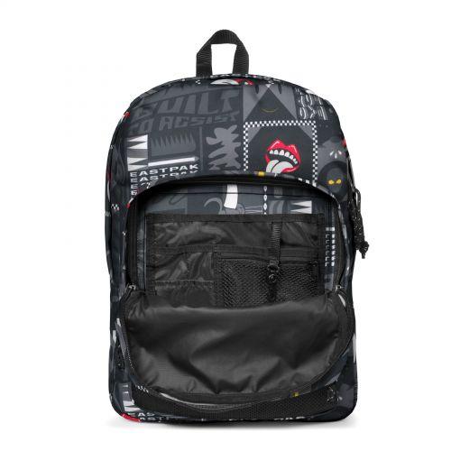 Pinnacle Wall Art Black Backpacks by Eastpak