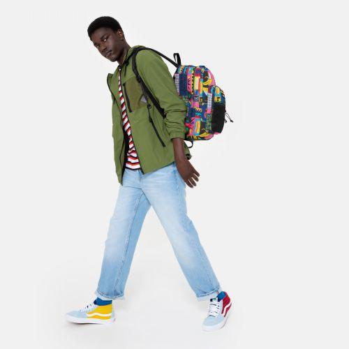 Pinnacle Wall Art Funk Backpacks by Eastpak - view 17