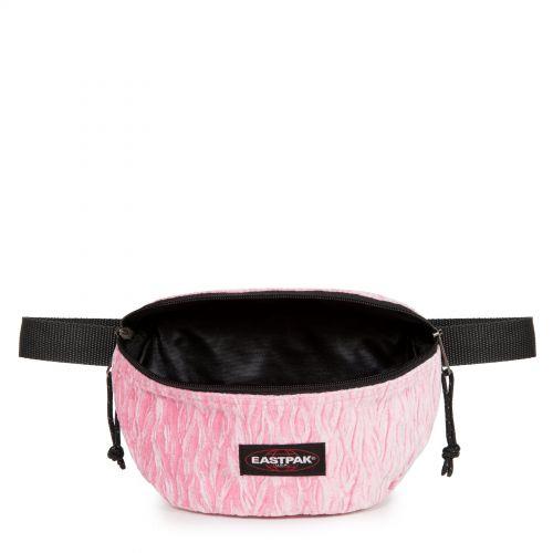 Springer Velvet Pink Accessories by Eastpak