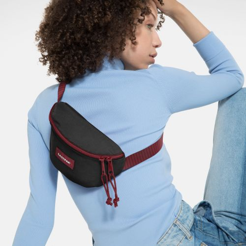 Springer Blakout Stripe Red Accessories by Eastpak