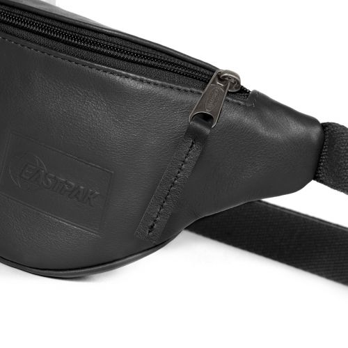 Springer Black Authentic Leather Default Category by Eastpak