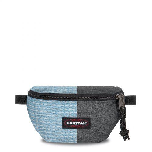 Re-built: Recycled Springer Batik Stitch/Denim Accessories by Eastpak