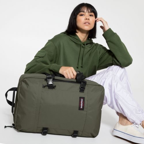 Tranzpack Cactus Khaki Backpacks by Eastpak - view 0