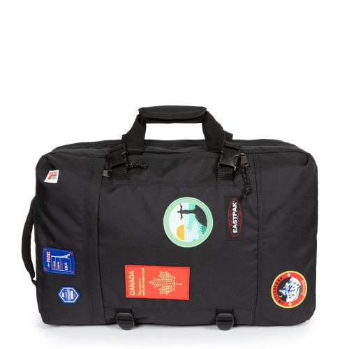 Tranzpack Patched Black Luggage by Eastpak