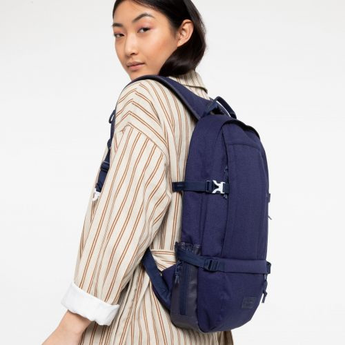 Floid Accent Blue Backpacks by Eastpak - view 0