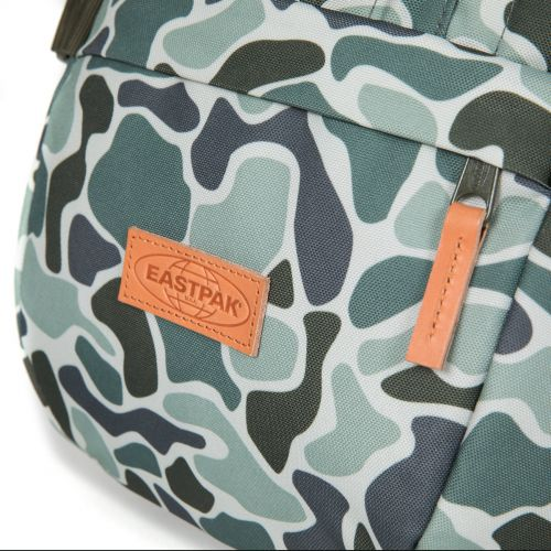 Floid Camouflage Green Backpacks by Eastpak