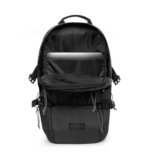 Floid Cs Ripstop Blac Backpacks by Eastpak