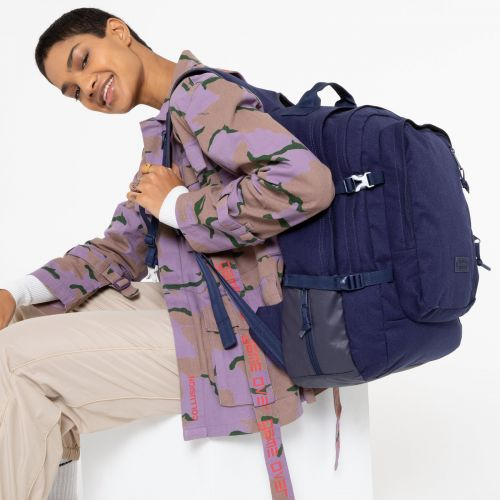 Volker Accent Blue Backpacks by Eastpak - view 0