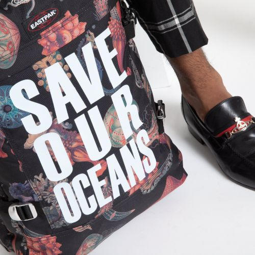 Vivienne Westwood Tranverz S Save Our Oceans Luggage by Eastpak