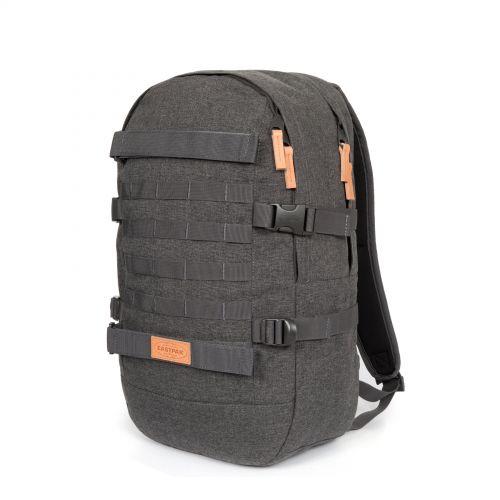 Floid Tact L Black Denim Backpacks by Eastpak