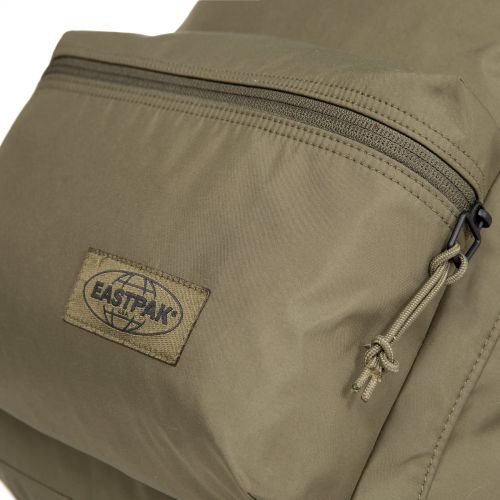 Padded Streamed Streamed Khaki Backpacks by Eastpak