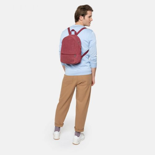 Lucia M Suede Merlot Leather by Eastpak - view 5