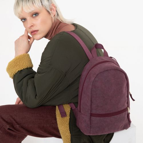 Lucia M Super Fashion Purple Backpacks by Eastpak - view 0