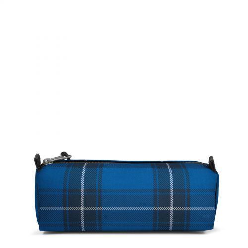Benchmark Single Checked Blue Accessories by Eastpak