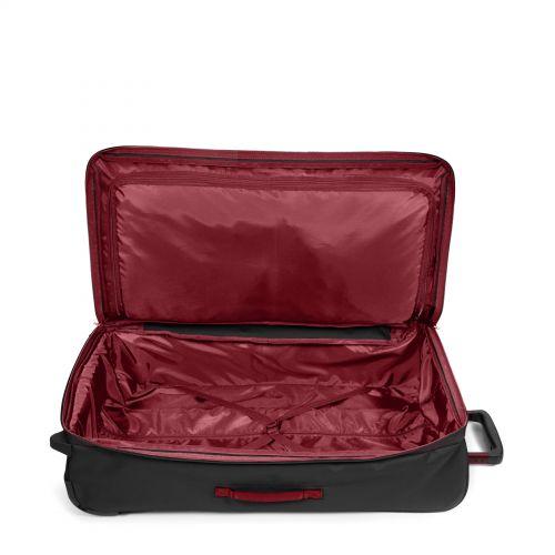 Traf'Ik Light M Blakout Stripe Red Luggage by Eastpak