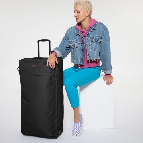 Traf'Ik Light L Black Large Suitcases by Eastpak - view 1