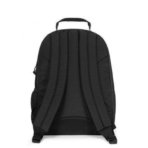 Morius Black Backpacks by Eastpak