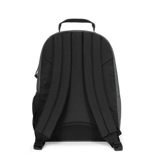 Morius Black Denim Backpacks by Eastpak