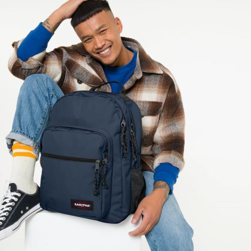 Morius Frozen Navy Backpacks by Eastpak - view 0