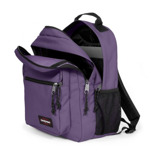 Morius Grape Purple Backpacks by Eastpak