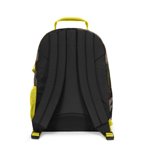 Morius Outline Yellow Backpacks by Eastpak