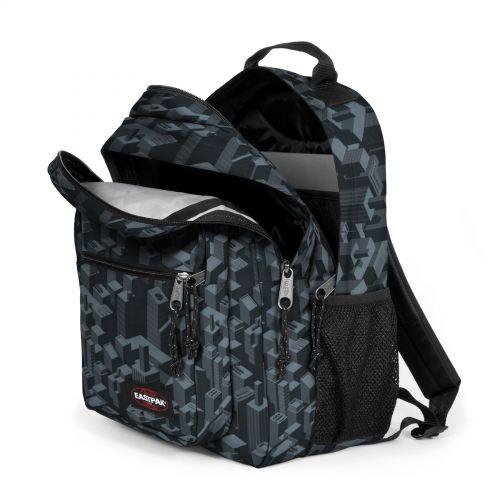Morius Pixel Black Backpacks by Eastpak