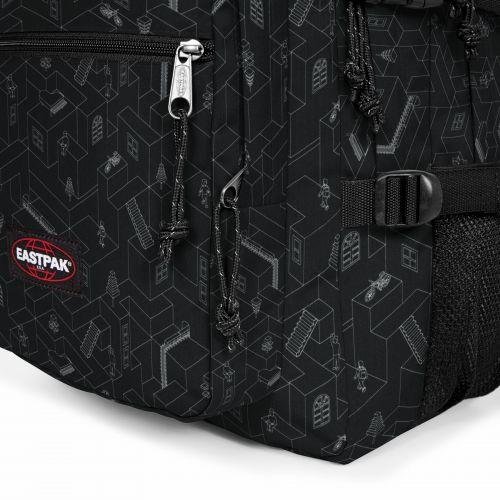 Walf Blocks Black Backpacks by Eastpak