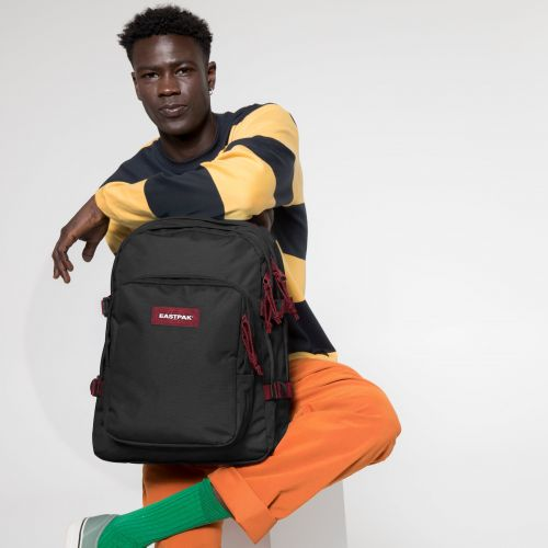 Provider Blakout Stripe Red Backpacks by Eastpak - view 0