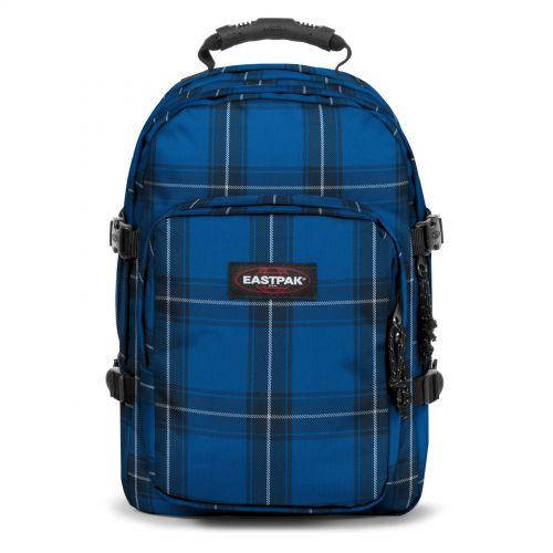 Provider Checked Blue Backpacks by Eastpak