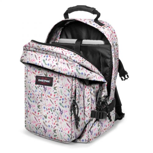 Provider Herbs White Backpacks by Eastpak