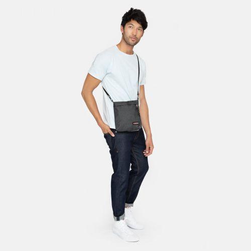 Lux Black Denim Shoulderbags by Eastpak - view 2