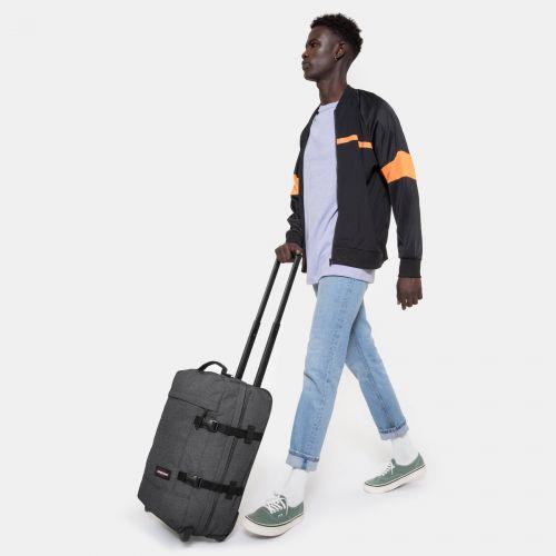 Tranverz S Black Denim Luggage by Eastpak - view 2